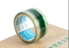 印LOGO封口胶(透明底绿色字)均可根据客户要求订做